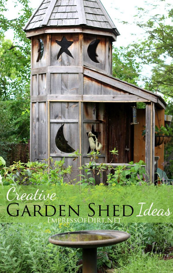 490 Best Images About GARDEN Sheds & Greenhouses ♥ On Pinterest