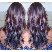 ideas metallic hair