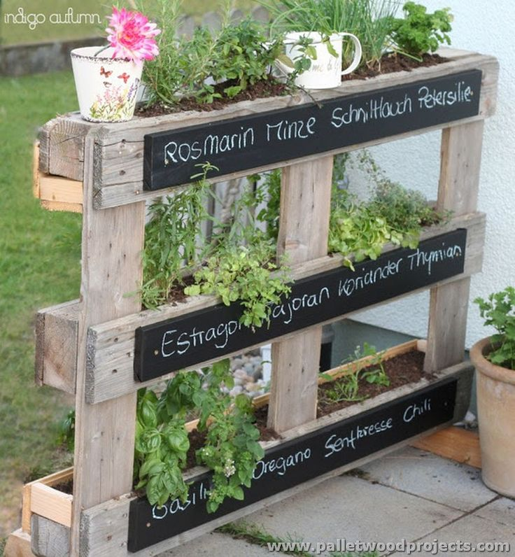 25 Best Ideas About Wood Pallet Planters On Pinterest Pallet