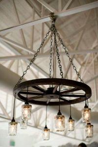 25+ best Wagon wheel chandelier ideas on Pinterest | Wagon ...