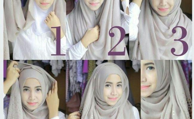 Blue Easy Simple Hijab Tutorial Hijab Tutorial Pinterest Simple Hijab Tutorials And Easy Dubai Khalifa