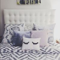 1000+ ideas about Pillow Headboard on Pinterest ...