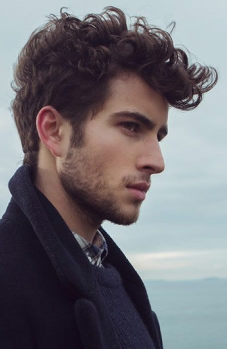 25 Best Ideas About Men Curly Hairstyles On Pinterest Men's
