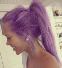 25+ best ideas about Permanent Purple Hair Dye on