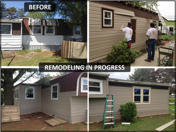 714 Best Images About Mobile Home Exteriors On Pinterest