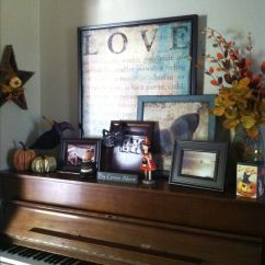 Old World Living Room Design Beige Fall Piano Top Decor   Pinterest Tops ...