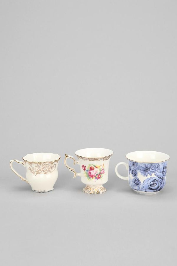 Tea Cup Shot Glass Set Of 3 Urban Outfitters Apartment