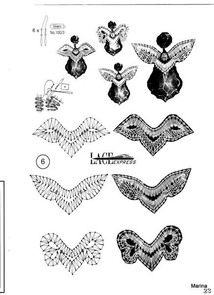 17 Best images about Crafts, Lace patterns or tatting on