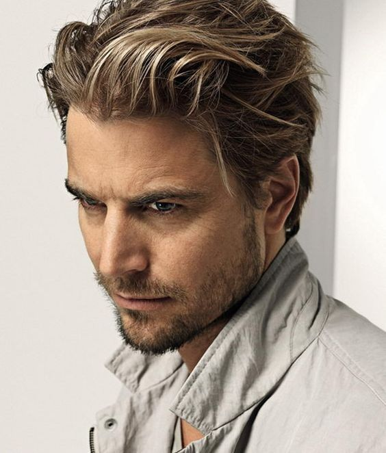 25 Best Ideas About Men's Medium Hairstyles On Pinterest Mens