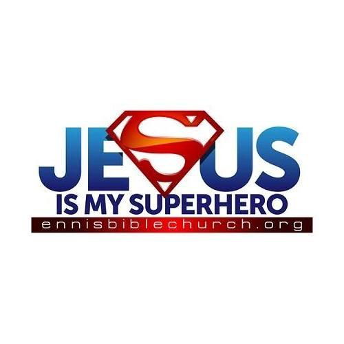 jesus superhero logo jesus