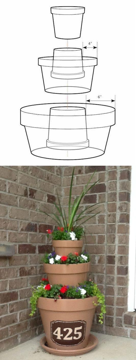 25 Best Ideas About Flower Pots On Pinterest Planting Flowers