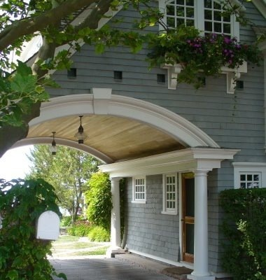 Interesting Architecture Porte Cochere House Plans - Carport off house