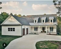 Modern Farmhouse One Story Home Plans