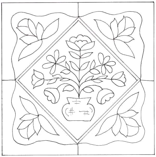 117 Best images about Quilts-Baltimore Block Drawings on