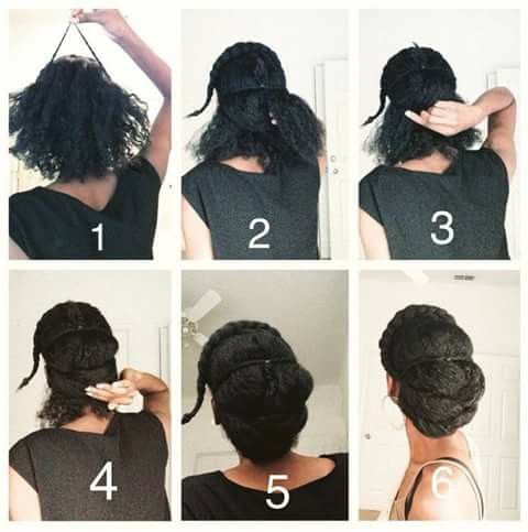 4c Natural Hair Updo Beautiful And Easy Top 20 Hairstyles