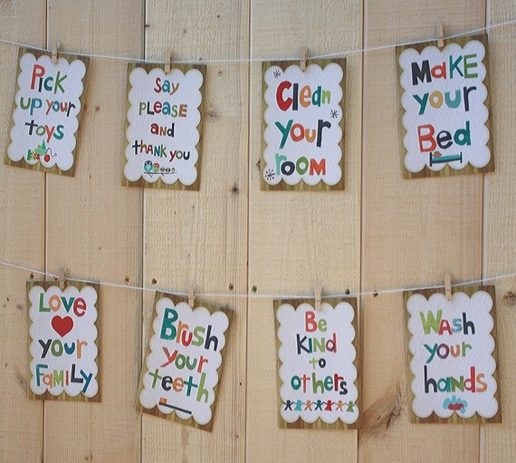 i need these on my wall above where my girls hang their back packs…little cons