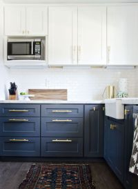 Best 20+ Navy Kitchen ideas on Pinterest   Navy kitchen ...