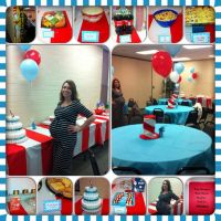 Dr suess baby shower decorations and food | Shower ...