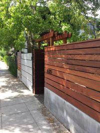 Best 25+ Concrete fence ideas on Pinterest | Fence design ...