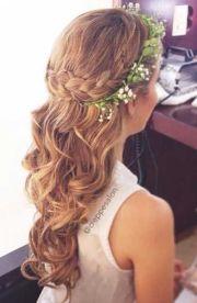 flower girls hair