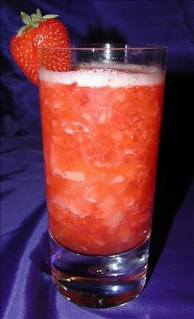 Adult Strawberry Pineapple Punch Cocktail. A yummy, refreshing summertime cocktail. The fresh fruit makes it to die for. (It would
