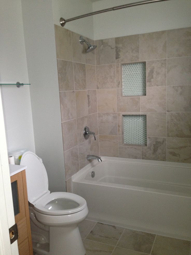 My bathroom remodel Tub