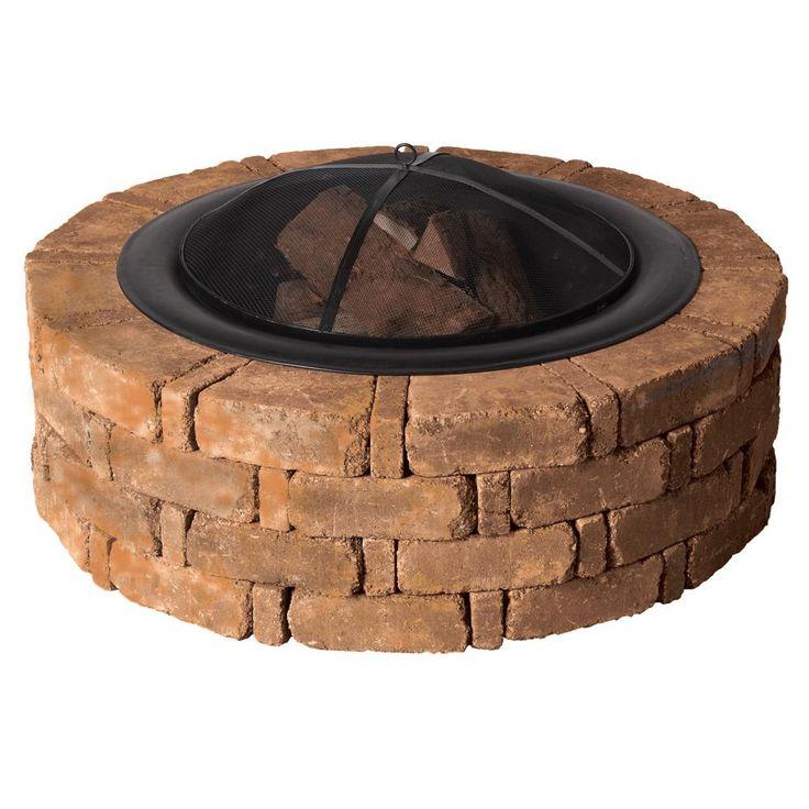 17 Best ideas about Concrete Fire Pits on Pinterest