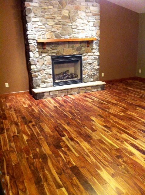 knotty pine kitchen cabinets clocks amazon 17 best ideas about acacia flooring on pinterest | wood ...