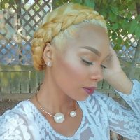 Blonde Crown Braid - http://community.blackhairinformation ...