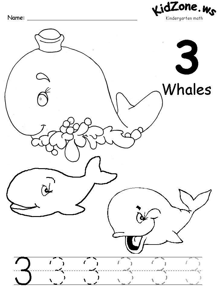 61 best Numbers 1-5 kindergarten images on Pinterest