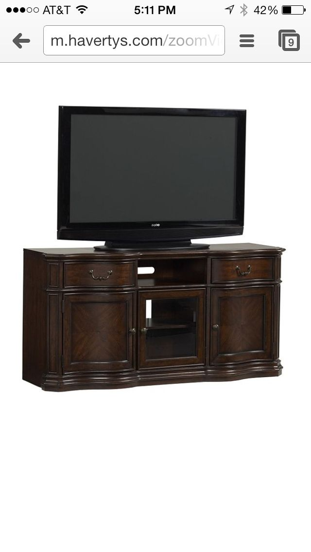 Havertys  TV Consoles  Pinterest