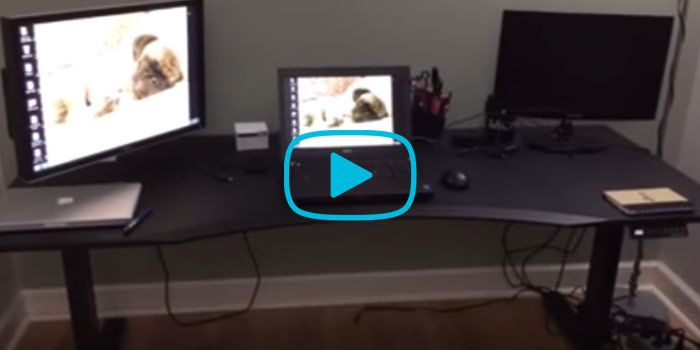 Evodesk 72inch standing desk review See what a fan says