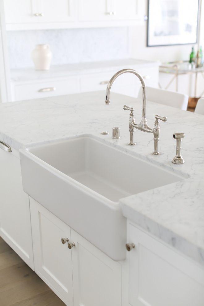 25 Best Ideas About White Farmhouse Sink On Pinterest