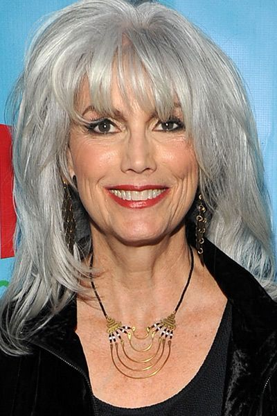 Celebrities With Gray Hair  Emmylou harris and Turning 50