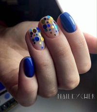17 Best ideas about Bright Blue Nails on Pinterest ...
