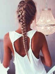 ideas gym hairstyles