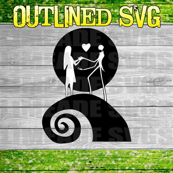 Download Nightmare Before Christmas SVG Cut File for use with the ...