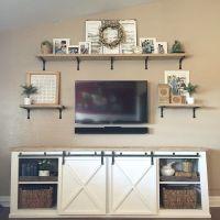 25+ best ideas about Tv Wall Shelves on Pinterest