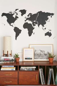 20+ best ideas about World Map Wall on Pinterest | Travel ...