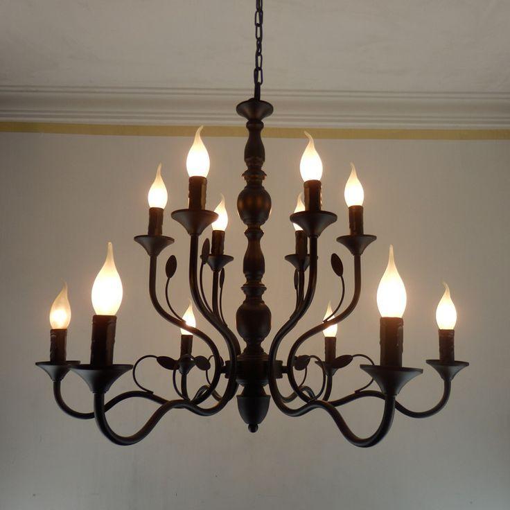 25+ best ideas about Black iron chandelier on Pinterest
