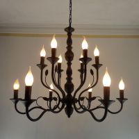 25+ best ideas about Black iron chandelier on Pinterest