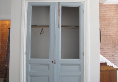 Clear Glass Closet Doors