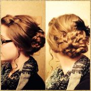 easy pentecostal hairstyle. poof