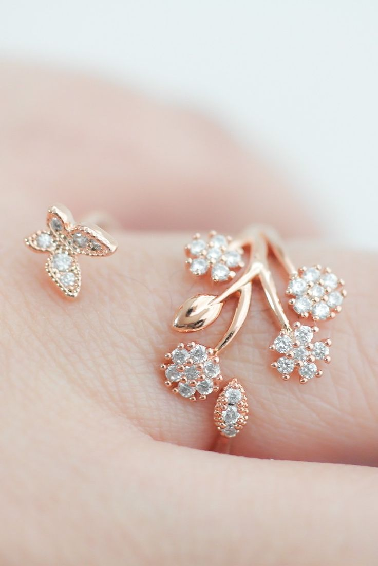 1000+ ideas about Flower Rings on Pinterest