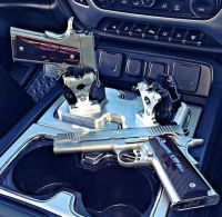 Cup holder mount | Gun's and stuff | Pinterest | Trucks ...