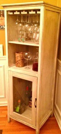 How To Build A Locking Liquor Cabinet