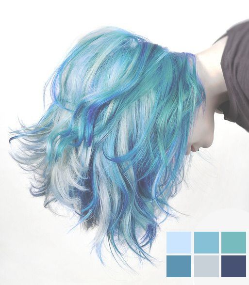 1000 ideas about Mermaid  Hair  Colors  on Pinterest