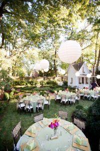 1000+ ideas about Backyard Wedding Receptions on Pinterest