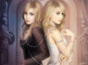 dark light - twins women