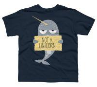 Amazon.com: Not A Unicorn Boy's Youth Graphic T Shirt ...